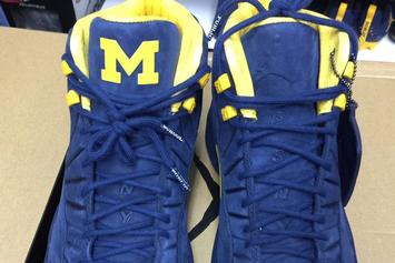 Michigan Football Receives Exclusive PSNY x Air Jordan 12