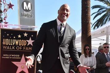 """Dwayne """"The Rock"""" Johnson Receives Star On Hollywood Walk Of Fame"""