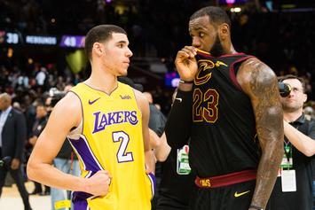 #NBATwitter Reacts To LeBron's Post-Game Talk With Lonzo Ball