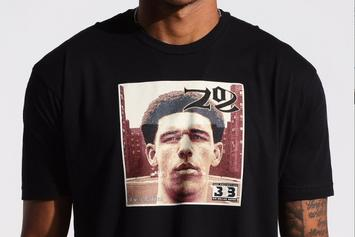 """Big Baller Brand Releases Gear With Lonzo's Face On Nas' """"Illmatic"""" Cover"""