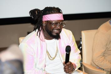 Watch T-Pain Provide Hilarious Commentary As He Draws A Self-Portrait