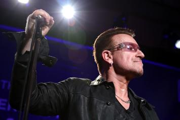 """Bono Says Hip-Hop Is The Only Place In Music For """"Young Male Anger"""""""