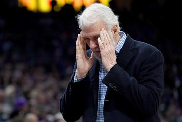 "Gregg Popovich Weighs In On LaVar Ball's ""Meaningless"" Opinion"