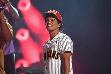 "Bruno Mars Earned A Whopping $200 Million For His ""24K Magic"" Tour"