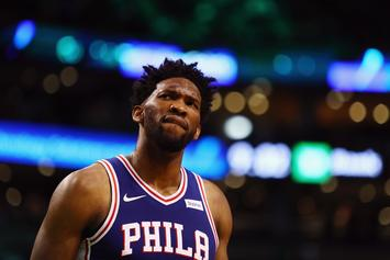 Fans Flood Rihanna's IG Comments After Joel Embiid Is Named NBA All-Star