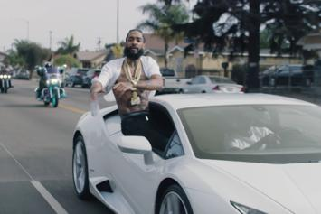 "Nipsey Hussle & YG Drop ""Last Time That I Checc'd"" Visuals"