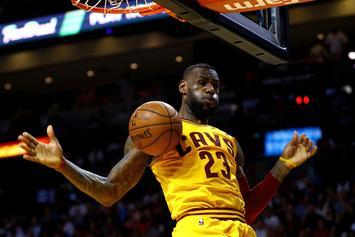 LeBron James Thinks Cavs Could Suffer 1st Round Playoff Defeat