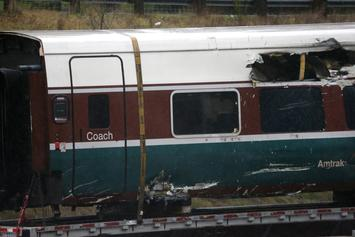 Train Carrying Republican Lawmakers Crashes Into Garbage Truck