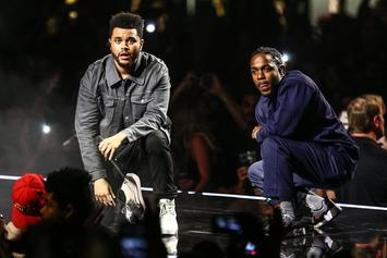 Top Tracks: Kendrick Lamar & The Weeknd Hit #1