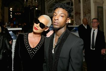 Amber Rose Reveals The Gross Thing She Does When Missing 21 Savage