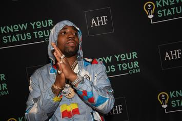 YFN Lucci Celebrates His Birthday In A Fiery Way