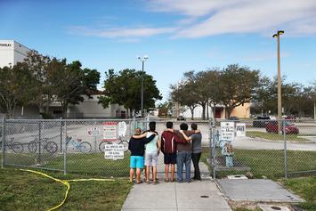Students Continue To Partake In Class Walk-Outs Following Florida Shooting