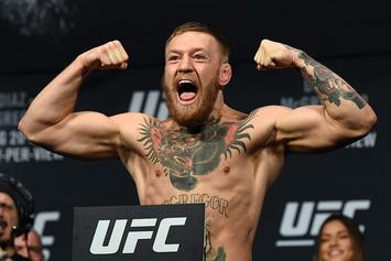 "Conor McGregor Announces Return: ""I Am Fighting Again. Period"""