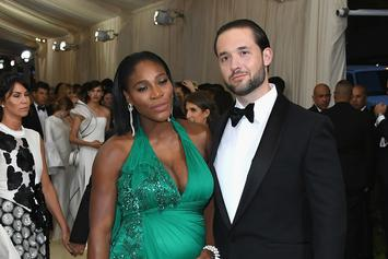 Serena Williams' Husband Surprised Her With Billboards Calling Her The G.M.O.A.T.