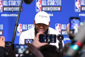 Jimmy Kimmel Live's Guillermo Finally Speaks With LeBron At Media Day