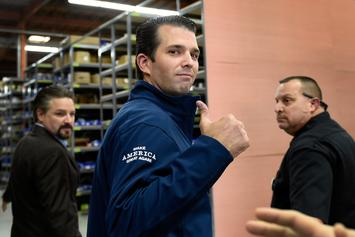 Man Arrested After Sending Mysterious White Substance To Donald Trump Jr.
