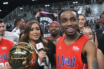 Quavo Wins MVP At 2018 Celebrity All-Star Game