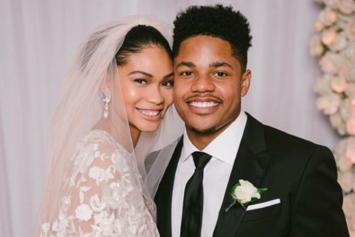 Chanel Iman & New York Giants' Sterling Shepard Are Officially Married