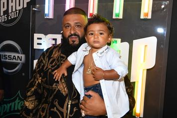"""DJ Khaled Shares Heartfelt Message To His Son In """"Father Of Asahd"""" Promo Clip"""