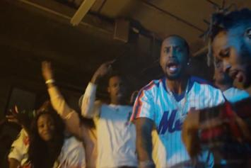 """Safaree Samuels Drops """"Hunnid"""" Video With Cameo By Charlamagne Tha God"""