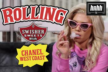 """Chanel West Coast Talks Smoking Weed Out Of An Apple On """"How To Roll"""""""