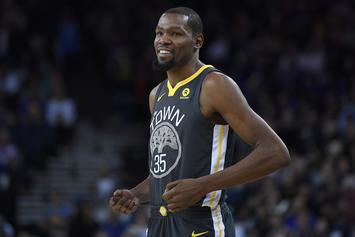 Kevin Durant Out At Least Two Weeks With Rib Fracture