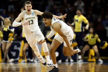 Michigan Scores Buzzer-Beating Win Over Houston To Advance To Sweet 16