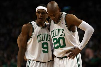 "Rajon Rondo Responds To Ray Allen's New Book: ""He Wants Attention"""