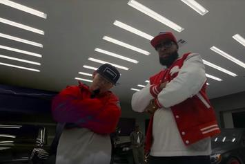 "Slim Thug & Paul Wall Break Out The Foreign Whips In New Video For ""R.I.P Parking Lot"""