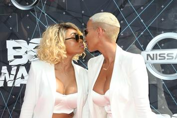 """Amber Rose Fervently Defends Blac Chyna's Fellatio Skills: """"You Got Her F-cked Up"""""""