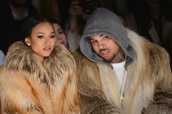 Chris Brown Curiously Comments On Photo Of Ex Karrueche & Victor Cruz