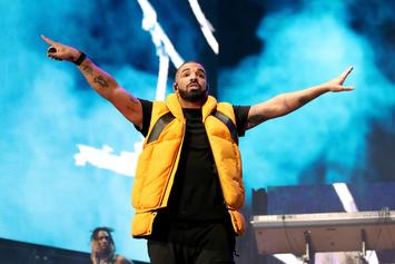 """Drake Comes Out During French Montana's Concert To Perform """"God's Plan"""""""
