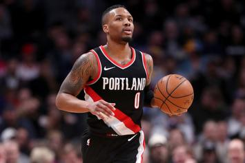 Damian Lillard Leaves Blazers For Birth Of First Child