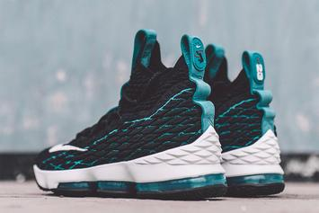 LeBron James Introduces Ken Griffey Jr. Inspired Nike LeBron 15s