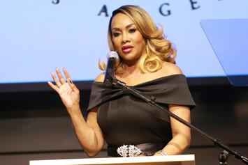Vivica A. Fox Gets Bombarded By Fur Protesters At New York Book Signing