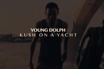 "Young Dolph Wakes Up To ""Kush On The Yacht"""