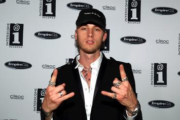 """Machine Gun Kelly Says """"There's No Way I'm Not In The Top 5"""" Rappers"""