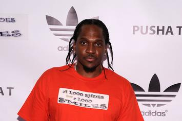"Single Art For Pusha T's ""Nosetalgia"" With Kendrick Lamar Revealed"