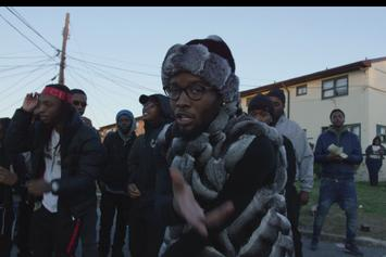 """Shy Glizzy Mobs Outside The D.C. Projects In New Video For """"First 48 Pt. 2"""""""