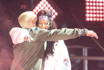"Eminem & Rihanna's ""The Monster"" Goes Platinum"
