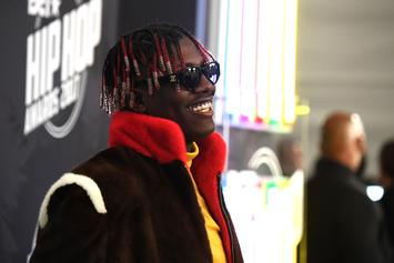 Lil Yachty Bought Cam'ron's Old Spinning Globe Chain For $250K