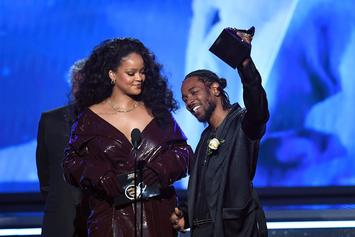 "Rihanna On Kendrick Lamar Pulitzer: ""Keep Showing The Kids That Anything Is Possible"""