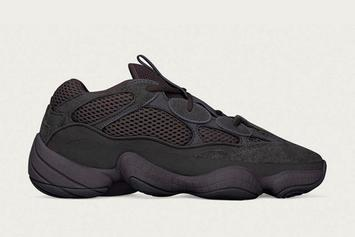 """Adidas Yeezy 500 """"Utility Black"""" Release Date Announced"""