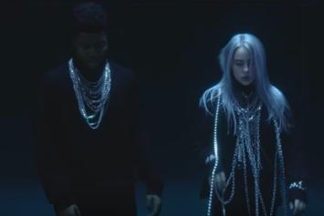 "Billie Eilish & Khalid Are Trapped In A Glass Box For Their ""Lovely"" Video"