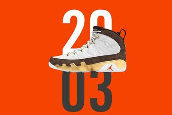 "Air Jordan 9 ""MOP Melo"" Release Scheduled For Tomorrow"