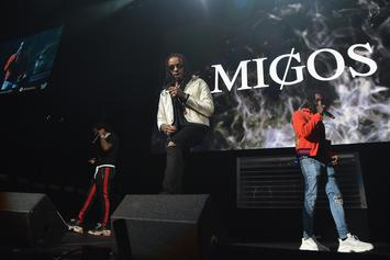 "Migos Perform ""Bad & Boujee"" In Nigeria, Crowd Goes Insane"