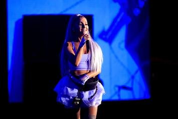 """Ariana Grande Announces Album Title & Performs """"No Tears Left To Cry"""" On Fallon"""