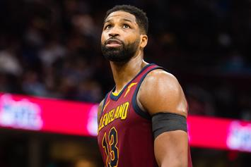 """Tristan Thompson Taunted With """"Khloe"""" Chants During Cavaliers/Raptors Game 1"""