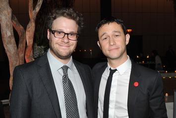 "Seth Rogen and Joseph Gordon-Levitt Rap Battle Gets Personal On ""Drop The Mic"""
