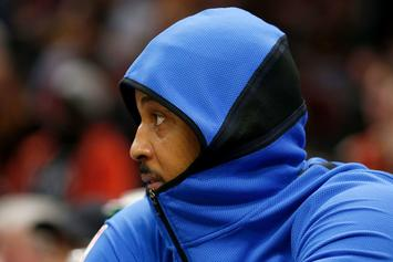 OKC Thunder Want To Get Rid Of Carmelo Anthony: Report